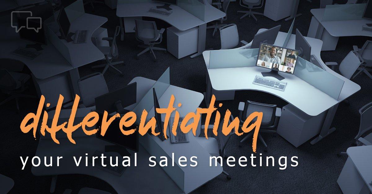 how to improve virtual sales meetings