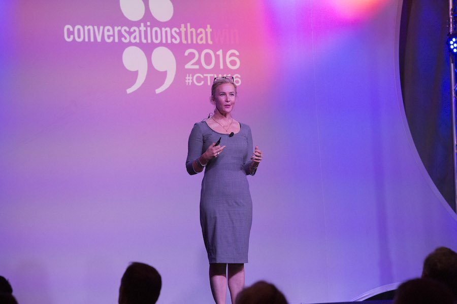 Jennifer Aaker shares the power of story at Corporate Visions' annual conference