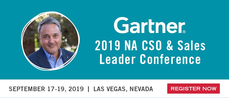 Gartner Sales & Marketing Conference 2019