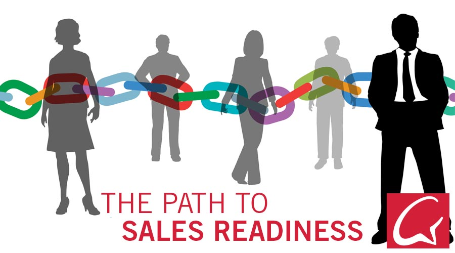 Sales enablement training path to readiness