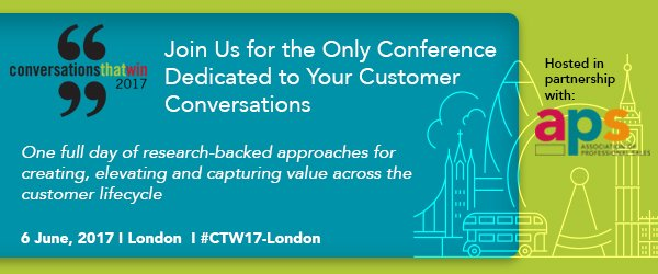 Join us for our dedicated customer conversations conference