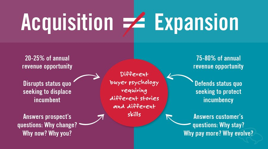 customer acquisition vs customer expansion
