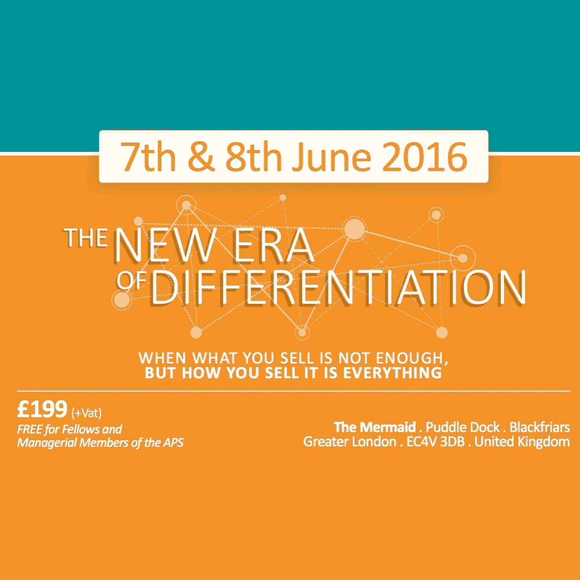 New Era of Differentiation - 2016