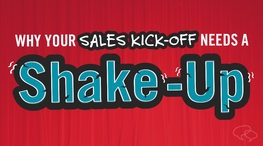 A sales kickoff agenda to make your next kickoff event the best yet.