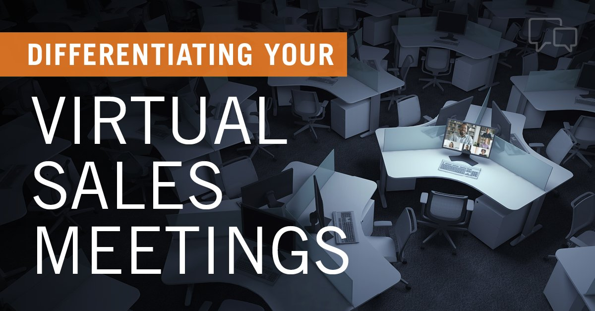 how to improve virtual sales meetings