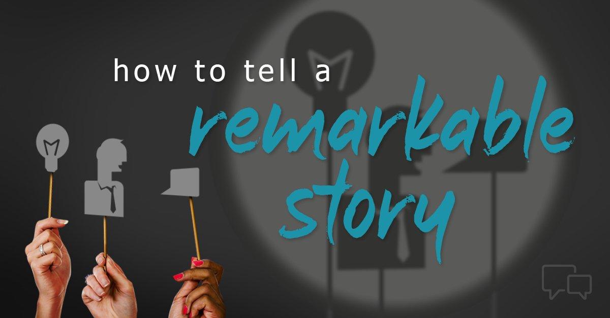 three ways to tell marketing stories