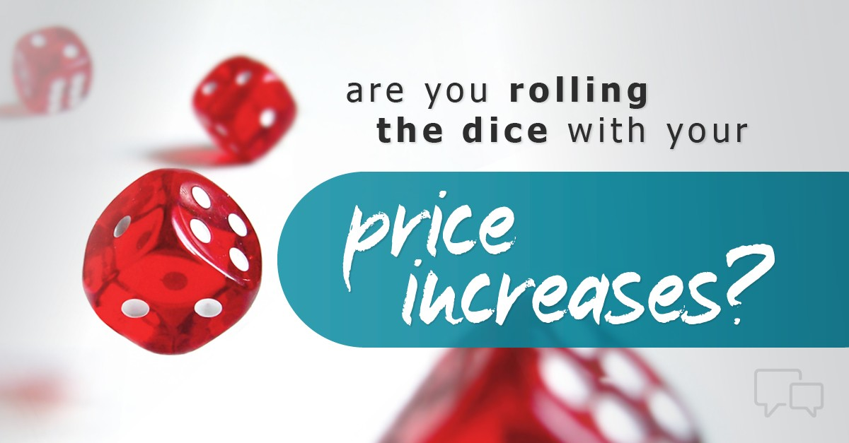 price increase messaging for sales and marketing